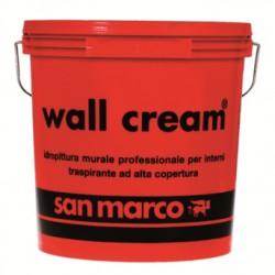 IDROPITTURA MURALE PROFESSIONALE TRASPIRANTE PER INTERNI ALTA COPERTURA WALL CREAM SAN MARCO