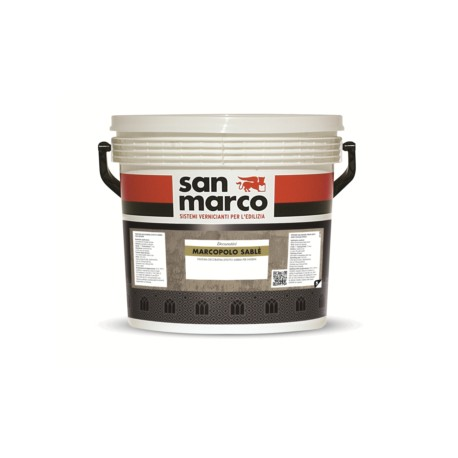 MARCOPOLO SABLE' FINITURA DECORATIVA EFFETTO SABBIA PER INTERNI SAN MARCO