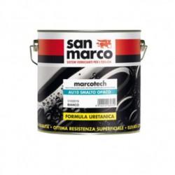 SMALTO IDRODILUIBILE ACRIL-URETANICO PER FINITURE LACCATE OPACHE MARCOTECH AU10 SAN MARCO