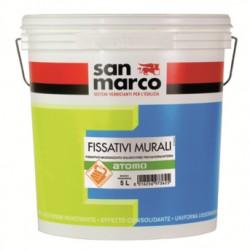 FISSATIVO MURALE MICRONIZZATO INODORE PER ESTERNI/INTERNI SOLVENT FREE ATOMO SAN MARCO