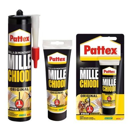 Pattex mille chiodi original 1947976 ferramenta pantani for Chiodi adesivi